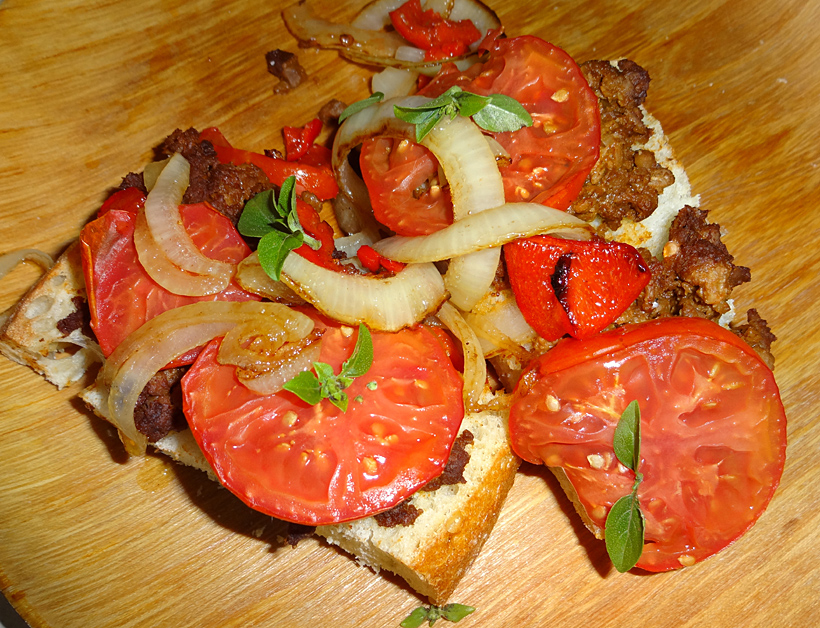 french bread pizza picture