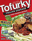 meatless tofurkey sausages picture